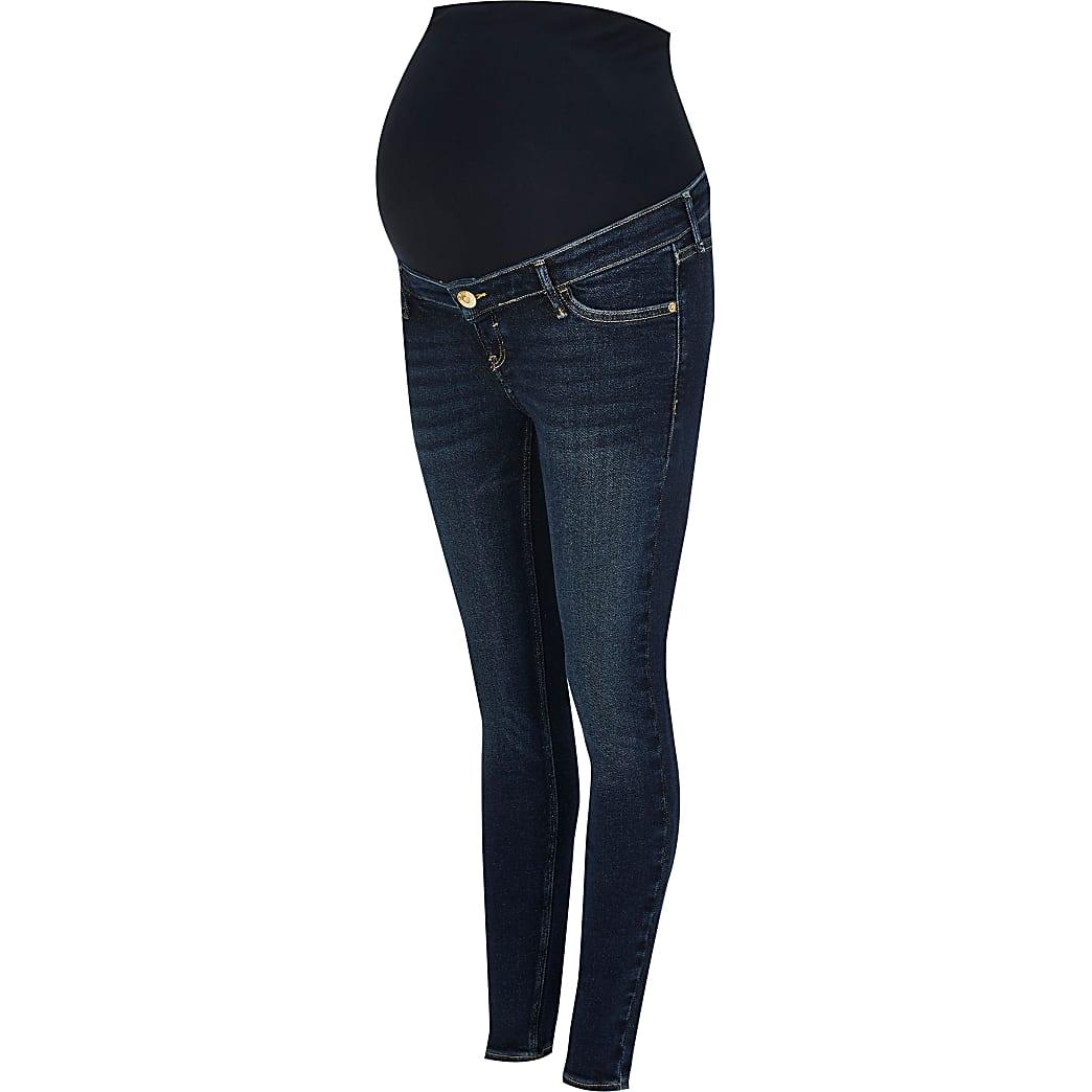 Blue Amelie maternity jeans