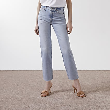 Blue blair high rise jean