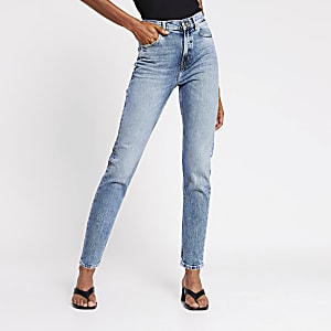 Blue Brooke high rise slim jeans