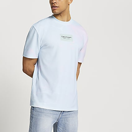 Blue Copenhagen graphic t-shirt