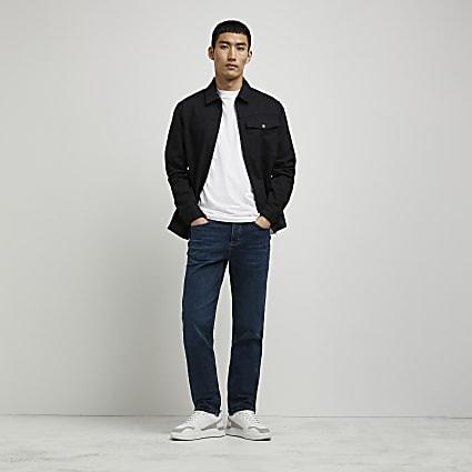 Blue Dean straight leg jean