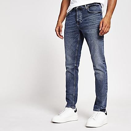 Blue Dylan slim fit jeans