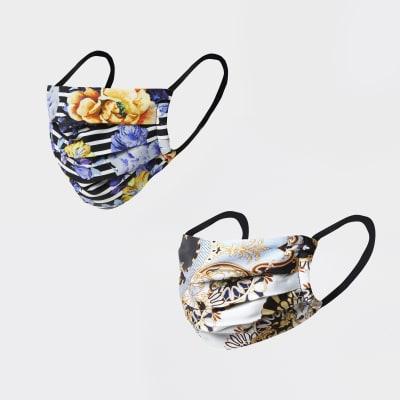 River Island Floral Face Masks