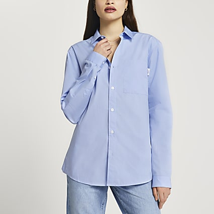 Blue Les Ensemble long sleeve shirt
