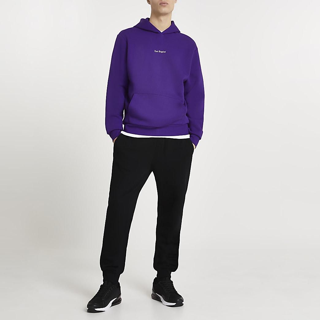 Blue 'Los Angeles' hoodie