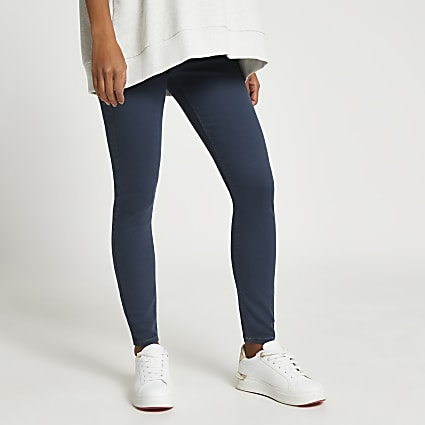 Blue Molly Skinny Maternity Jean