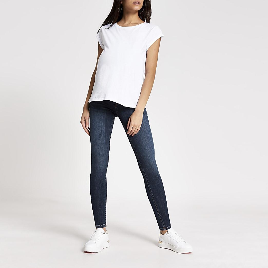 Blue Molly Skinny Maternity Jean