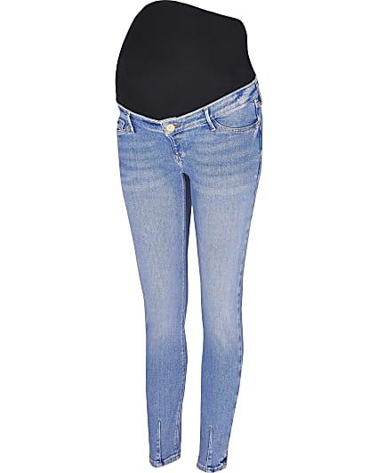 Blue Molly skinny maternity jeans