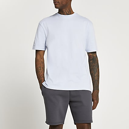 Blue regular fit t-shirt