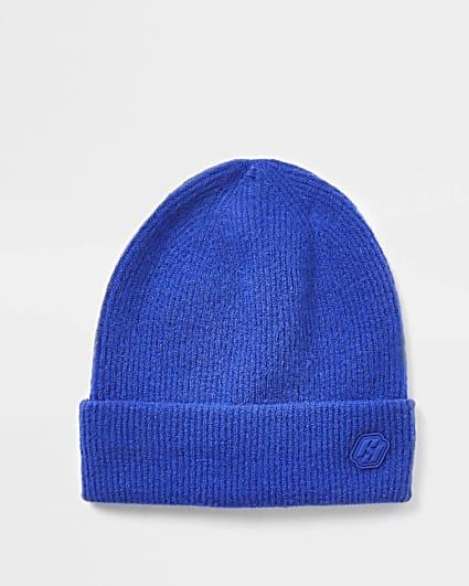 Blue RI branded beanie hat