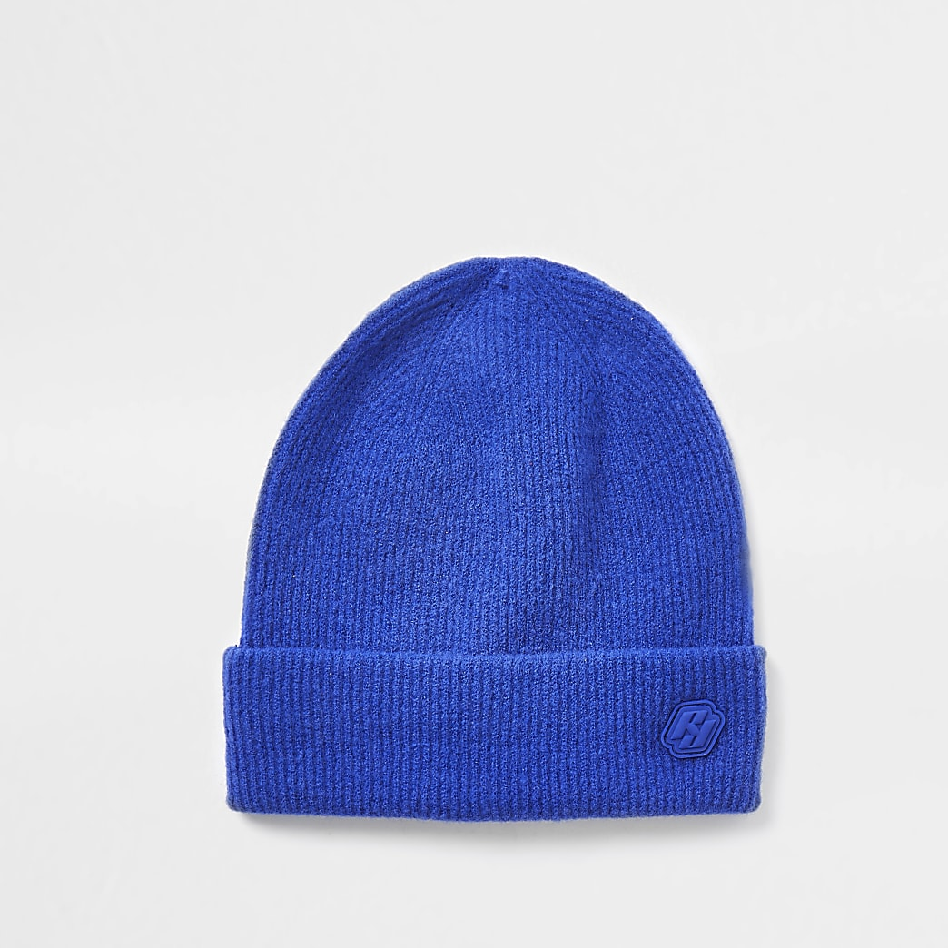 Blue RI branded beanie hat