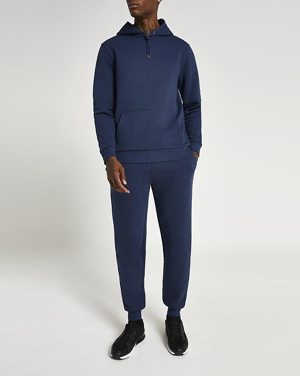 Blue RI slim fit joggers
