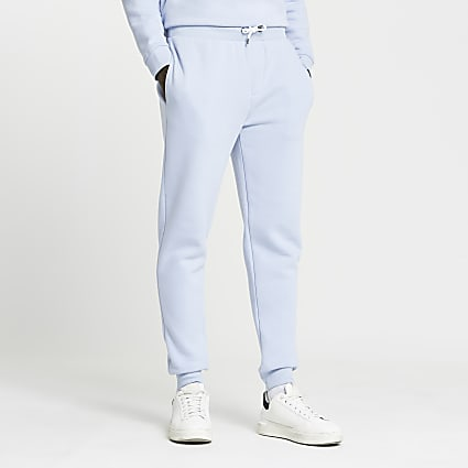 Blue RI slim fit joggers