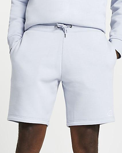 Blue RI slim fit shorts