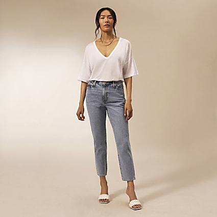 Blue RI Studio straight leg jeans