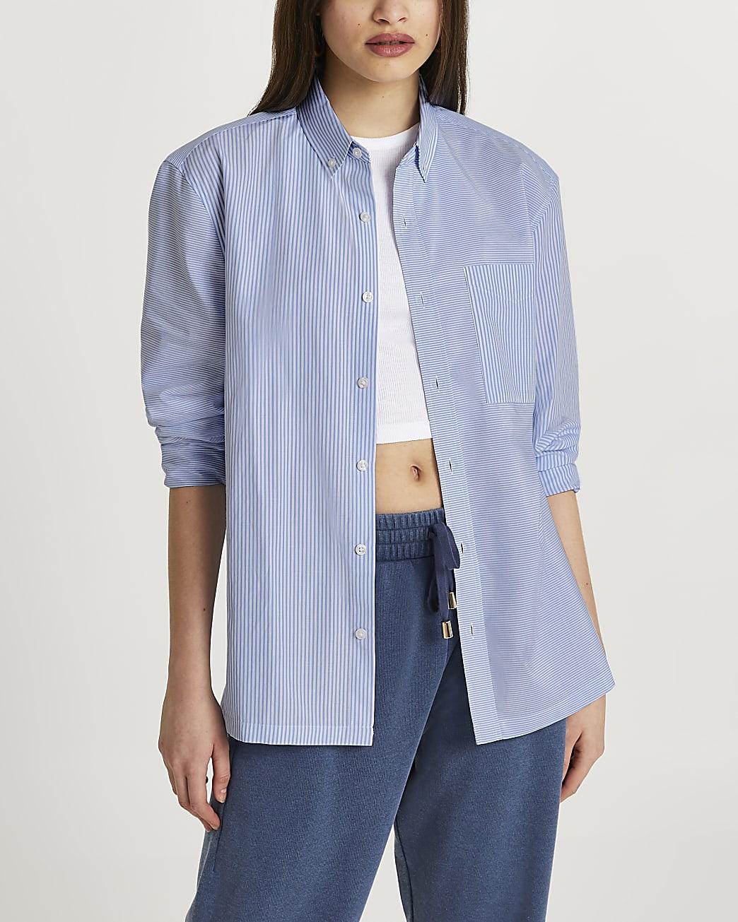 Blue stripe '(Les) Ensemble' shirt
