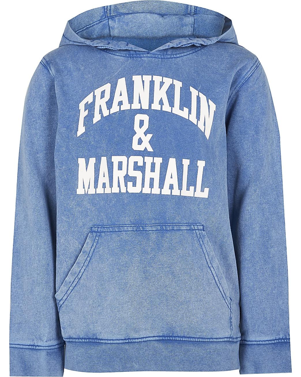 Boyd blue Franklin & Marshall hoodie