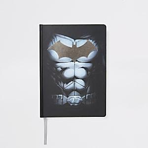 Schwarzes Notizbuch mit Batman-Motiv für Jungen