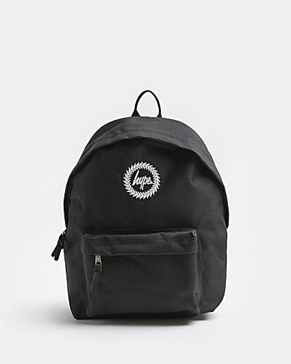 Boys black Hype backpack