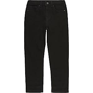 Boys black Jake regular fit jeans