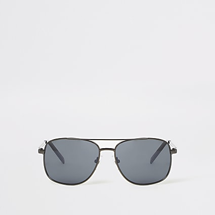 Boys black navigator sunglasses