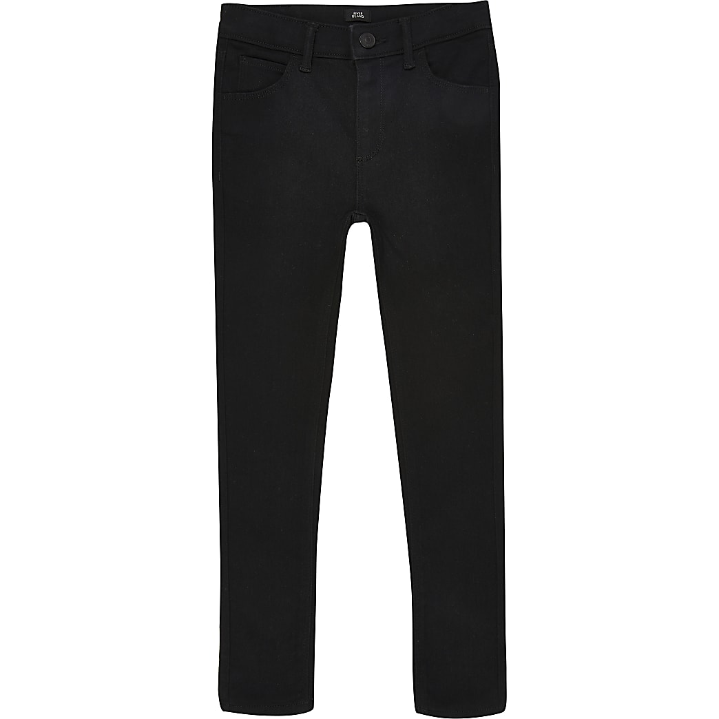 Ollie – Schwarze Spray On Skinny Jeans