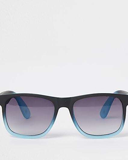 Boys black ombre sunglasses