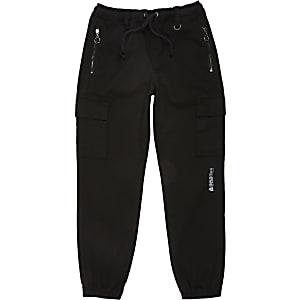 Prolific– Pantalon de jogging utilitaire noirpour garçon