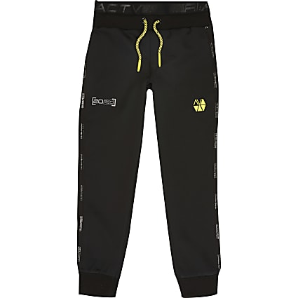 Boys black RI Active joggers