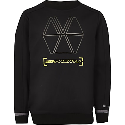 Boys black RI Active sweatshirt