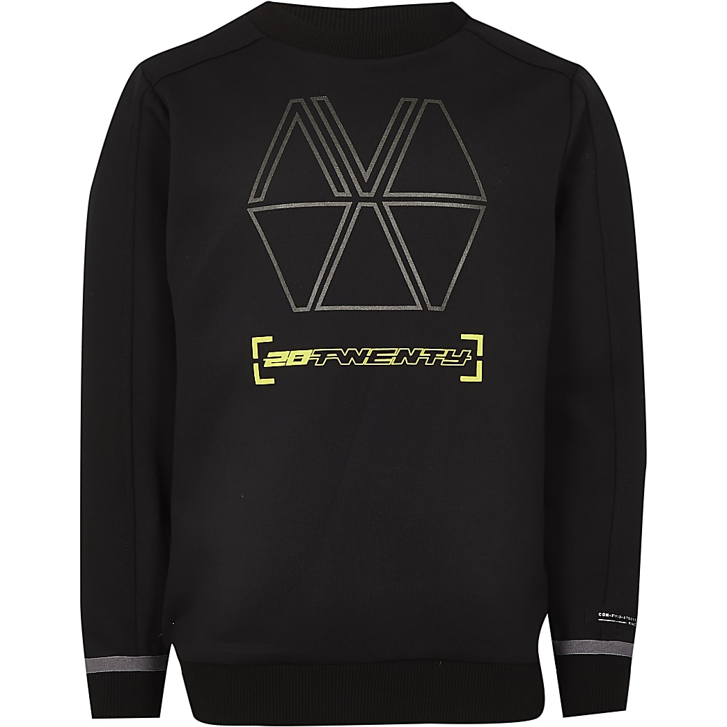 Boys black RI Active sweatshirt