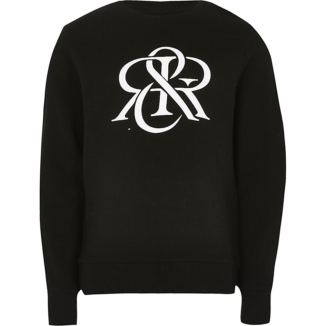 Boys black RIR sweatshirt