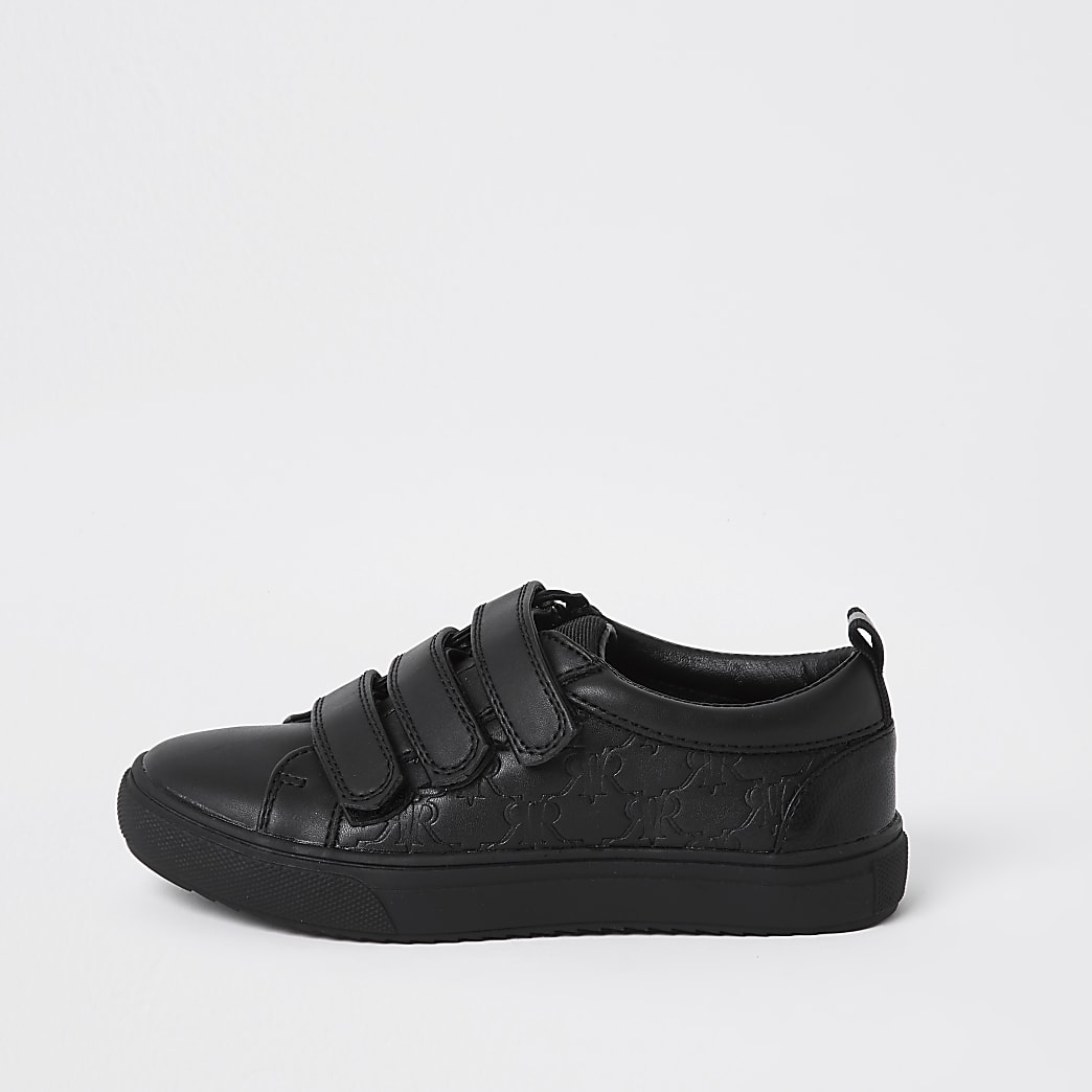 Boys Black RVR Mono Plim