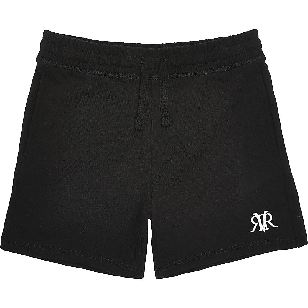 Zwarte RVR shorts voor jongens