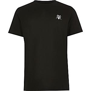 T-shirt RVR noir pour garçon