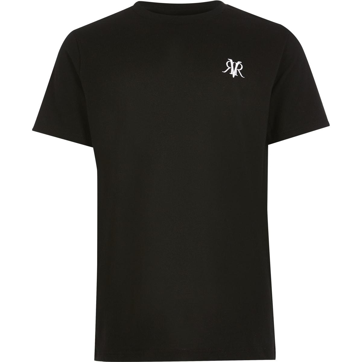 Zwart RVR T-shirt voor jongens