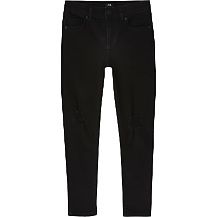 Boys black skinny jeans