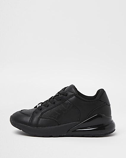 Boys black trainers