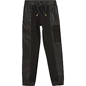 Pantalon de jogging utilitaire noir pour garçon