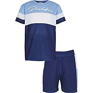 Boys Blue - Medium Blocked Prolific Mesh Set
