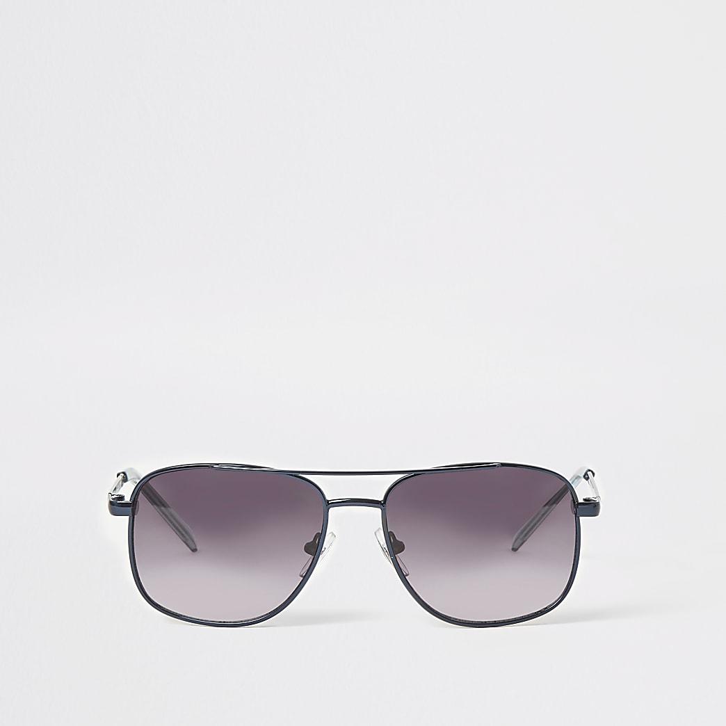 Boys blue aviator sunglasses