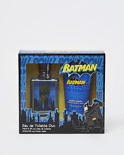 Boys blue Batman toiletry set