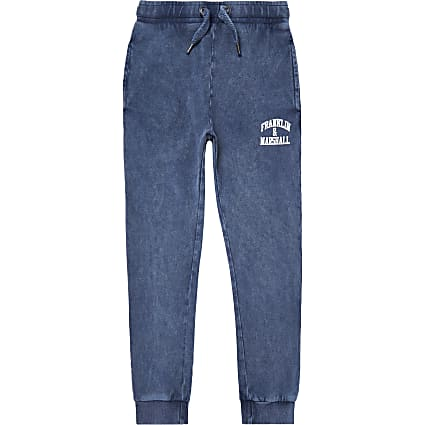 Boys blue Franklin & Marshall joggers