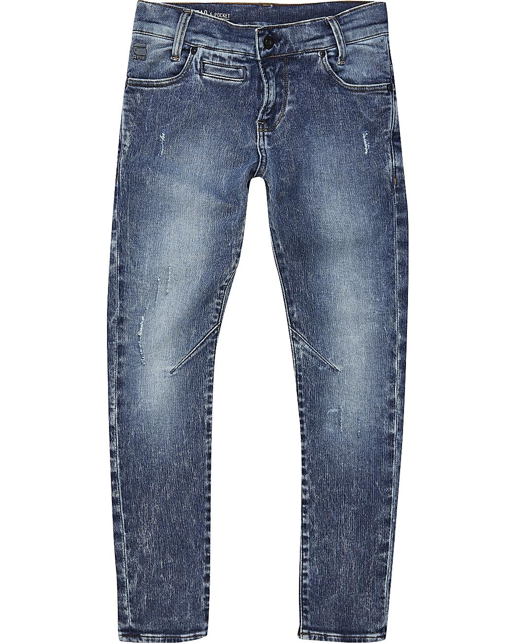 Boys blue G-Star Raw Skinny Jeans