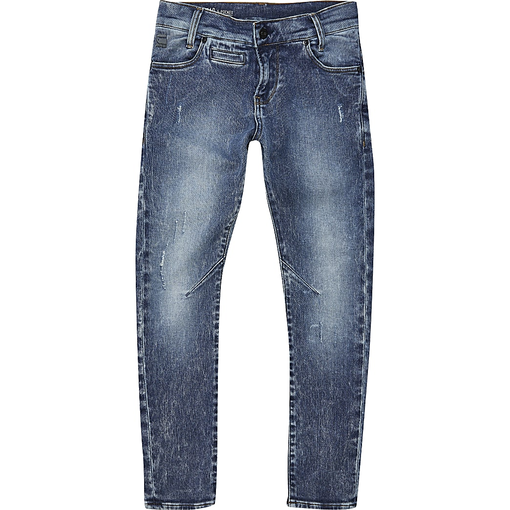 Boys blue G-Star Raw Skinny Jeans