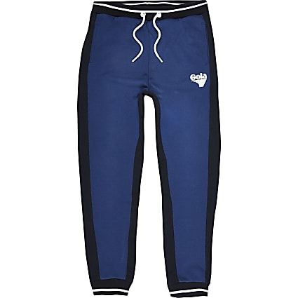 Boys blue Gola Exclusive joggers