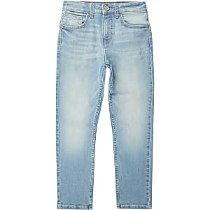 Jake - Blauwe regular fit jeans voor jongens