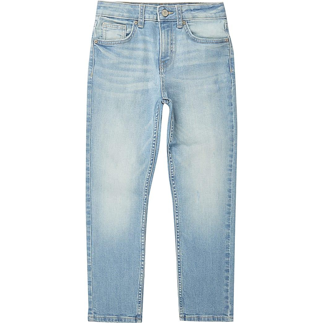 Jake - Blauwe regular fit jeans voor jongens
