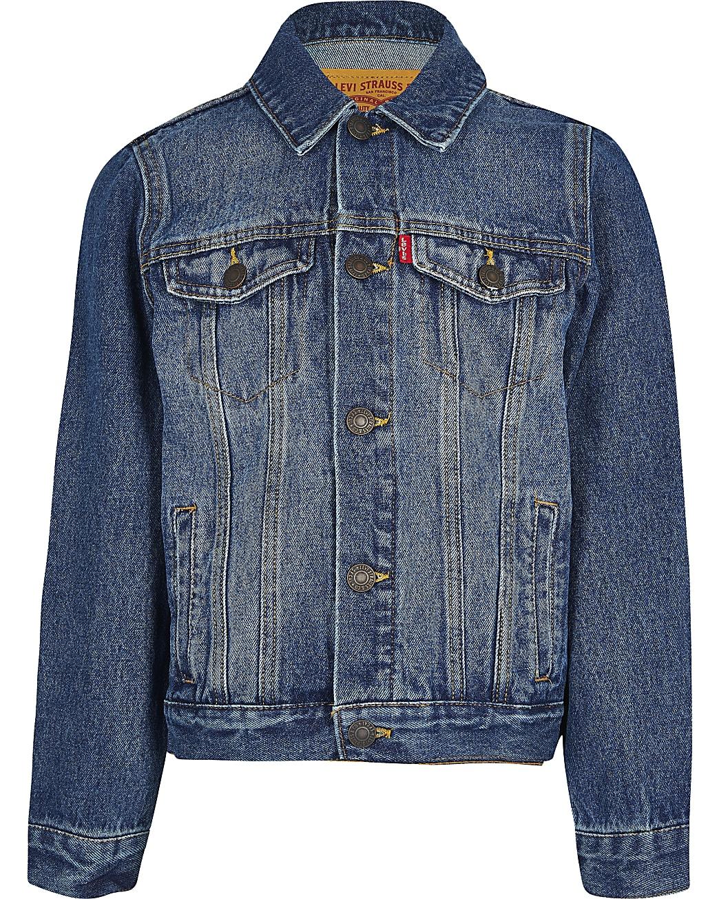Boys blue Levi's denim jacket