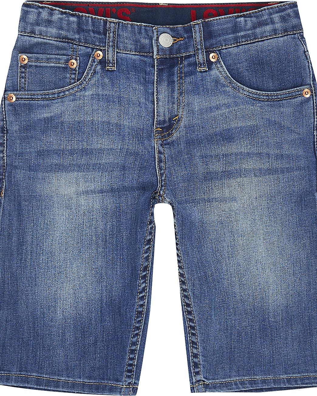 Boys blue Levi's denim shorts